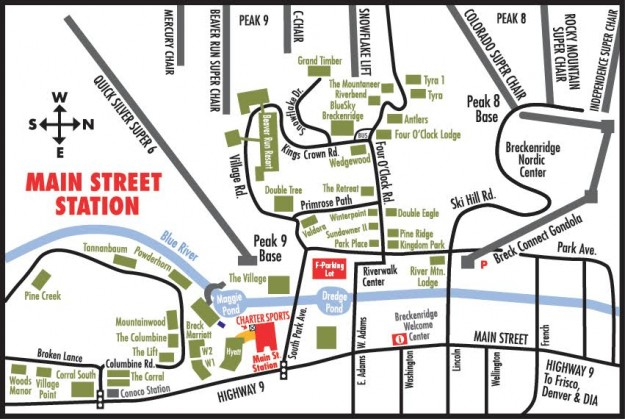 downtown denver hotel map with Breckenridge Main Street Station on 22 further Denver Union Station further Breckenridge Main Street Station also Discover Aspen Colorado Vacations furthermore Radisson Blu Mall Of America.